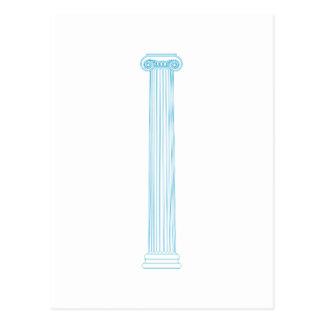Ionic Column Postcard