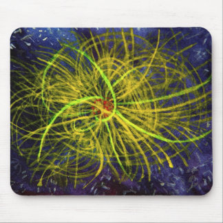 Ionic Fireworks Mouse Pad
