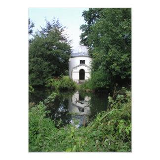Ionic Temple, Chiswick House, Chiswick, London, UK Card