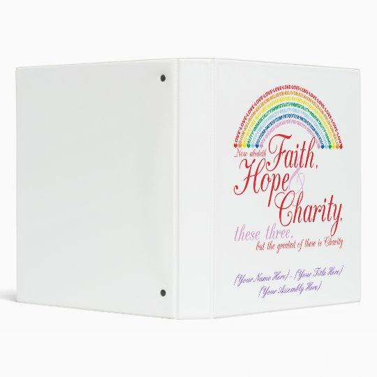 IORG Faith, Hope & Charity Binder