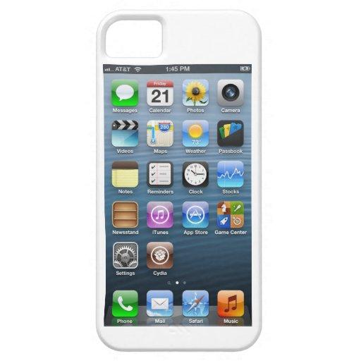 IOS 6 FUNDA PARA iPhone SE/5/5s