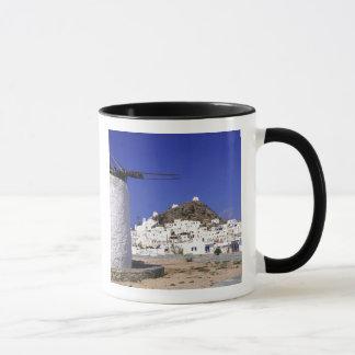 Ios, Greece. The beautful and crisp, white and Mug