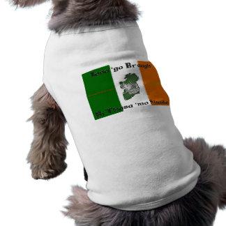 Iosa go Braugh Doggie Ribbed Tank Top Pet Clothing
