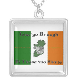 Iosa go Braugh Sterling Necklace