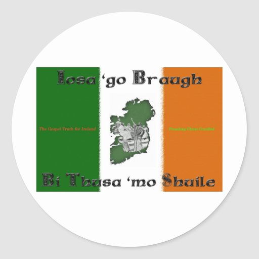 Iosa go Braugh Sticker