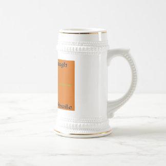 Iosa va cerveza de raíz de Braugh Stein Taza
