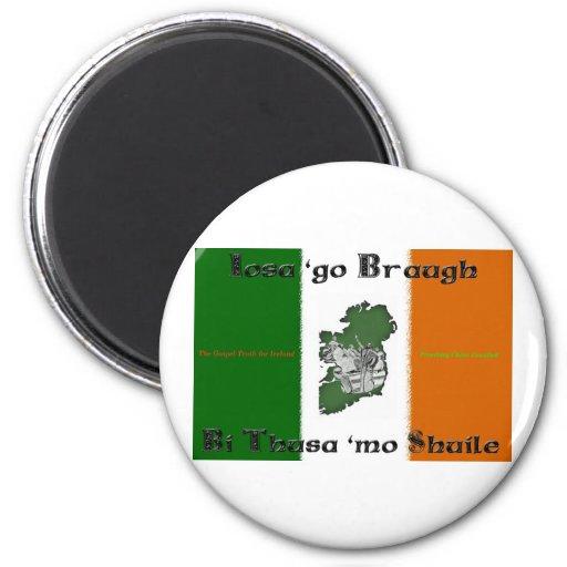 Iosa va imán redondo de Braugh