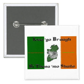 Iosa va instinto cuadrado de Braugh Pin
