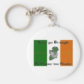Iosa va llavero del botón de Braugh
