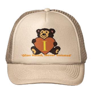 Iota Heart Cap Mesh Hats
