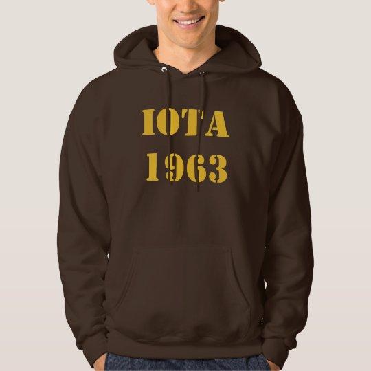 IOTA HOODED SWEAT SHIRT