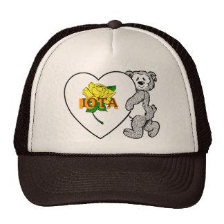 Iota Rose Hat