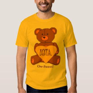 Iota Sweetheart Bear Logo, Ow-Sweet! T Shirt