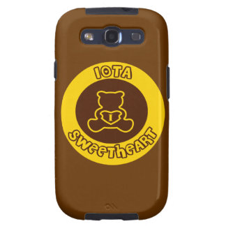 Iota Sweetheart Button Samsung Galaxy S2 Case