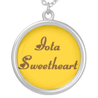 Iota Sweetheart Necklace