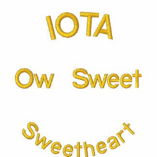 IOTA Sweetheart tribute jacket