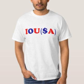 IOU(SA): Gov't Debt Ceiling T-Shirt