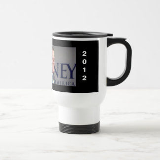 Iowa 2012 Mitt Romney Photo Travel Mug