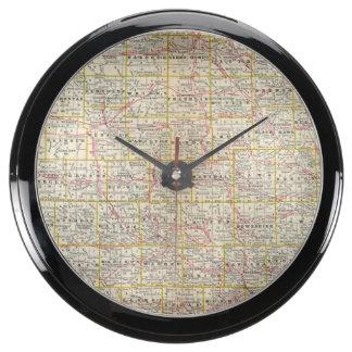 Iowa 6 aqua clocks