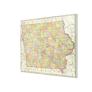 Iowa 6 lona envuelta para galerías