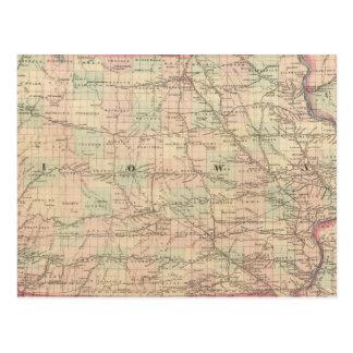 Iowa 6 postal
