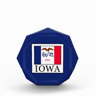 Iowa Acrylic Award