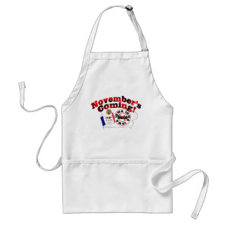 Iowa Anti ObamaCare – November's Coming! Adult Apron