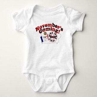 Iowa Anti ObamaCare – November's Coming! Baby Bodysuit