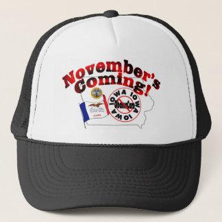 Iowa Anti ObamaCare – November's Coming! Trucker Hat