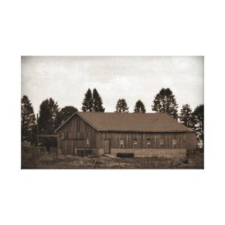 Iowa Barn Gallery Wrap Canvas