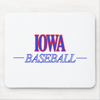 IOWA baseball DESIGNS Mouse Pad