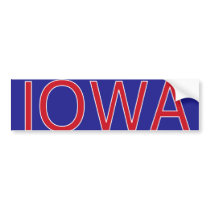 Iowa Bumper Sticker