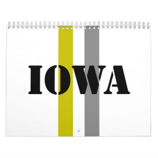 Iowa Calendar