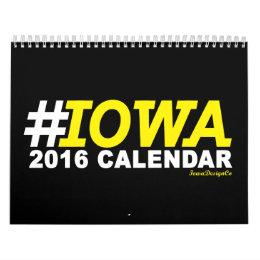 IOWA Calendar 2016