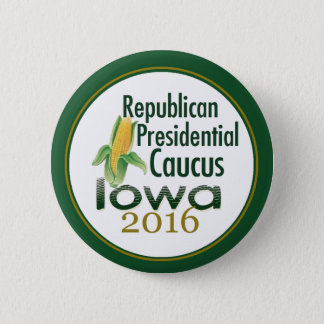 IOWA CAUCUS 2016 Button