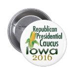 IOWA CAUCUS 2016 PINS