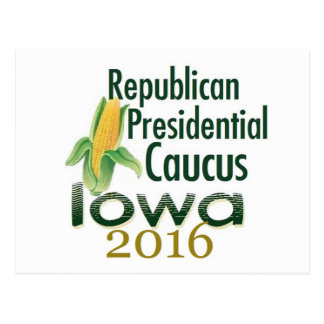 IOWA CAUCUS 2016 Postcard