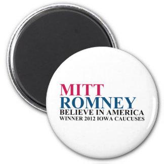 Iowa Caucuses 2012 2 Inch Round Magnet