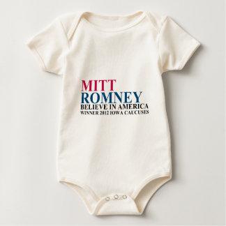 Iowa Caucuses 2012 Baby Bodysuit