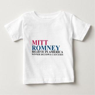 Iowa Caucuses 2012 Baby T-Shirt