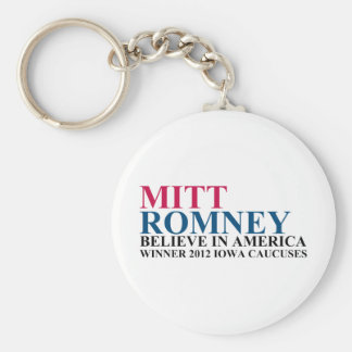 Iowa Caucuses 2012 Keychain