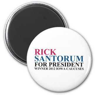 Iowa Caucuses 2012 Magnet