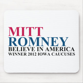 Iowa Caucuses 2012 Mouse Pad