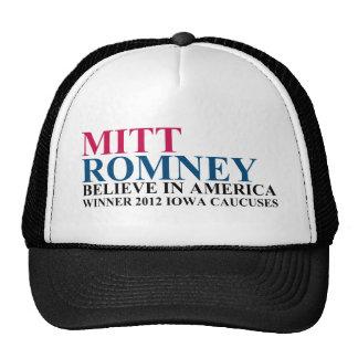 Iowa Caucuses 2012 Trucker Hat