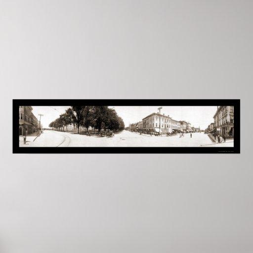 Iowa City, foto 1907 de IA Posters