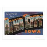 Iowa City, Iowa - escenas grandes de la letra Tarjeta Postal