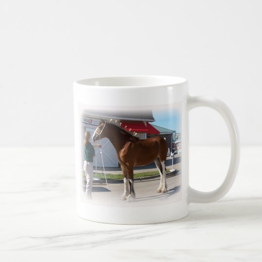 Iowa Clyde Show Missy ]white border Coffee Mug