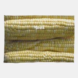 Iowa Corn on the Cob Hand Towels