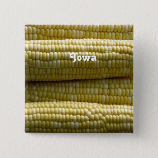 Iowa Corn on the Cob Pinback Button