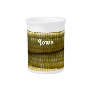 Iowa Corn on the Cob Drink Pitcher